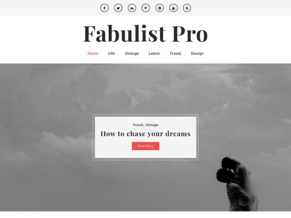 Fabulist Pro – Clean & Elegant Blog Theme