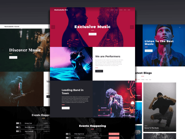 Musicaholic Pro – Share Your Musical Venture