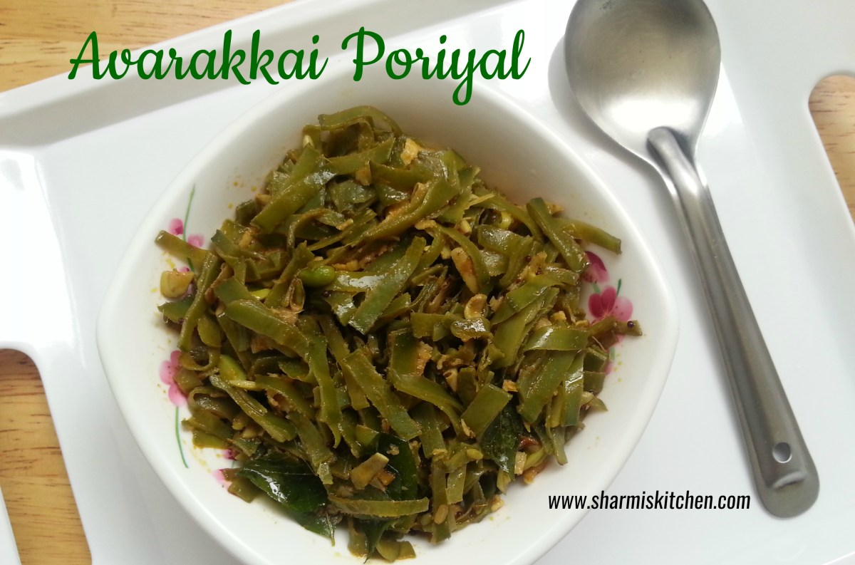 Broad Beans stir-fry | Avarakkai Poriyal Recipe