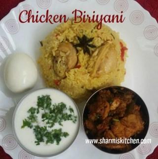 Easy Chicken Biriyani Recipe -Pressure Cook Method