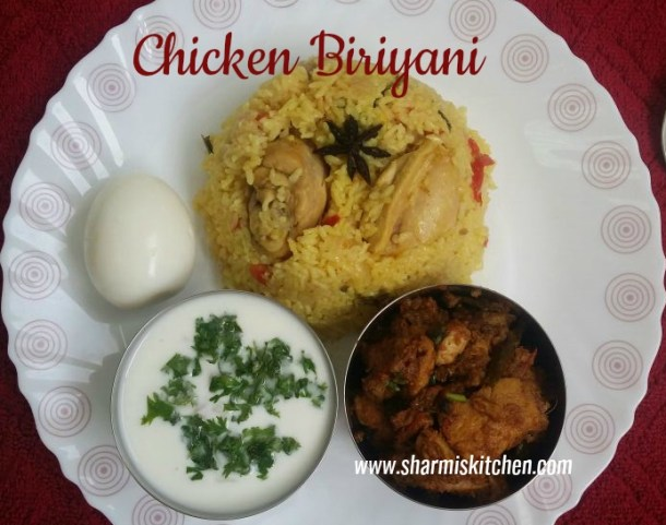 Easy Chicken Biriyani Recipe Pressure Cook Method