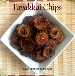 Pavakkai Chips | Bitter Guard Chips Recipe