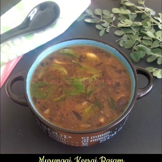 Murungai Keerai Rasam | Drumstick Leaves Rasam Recipe