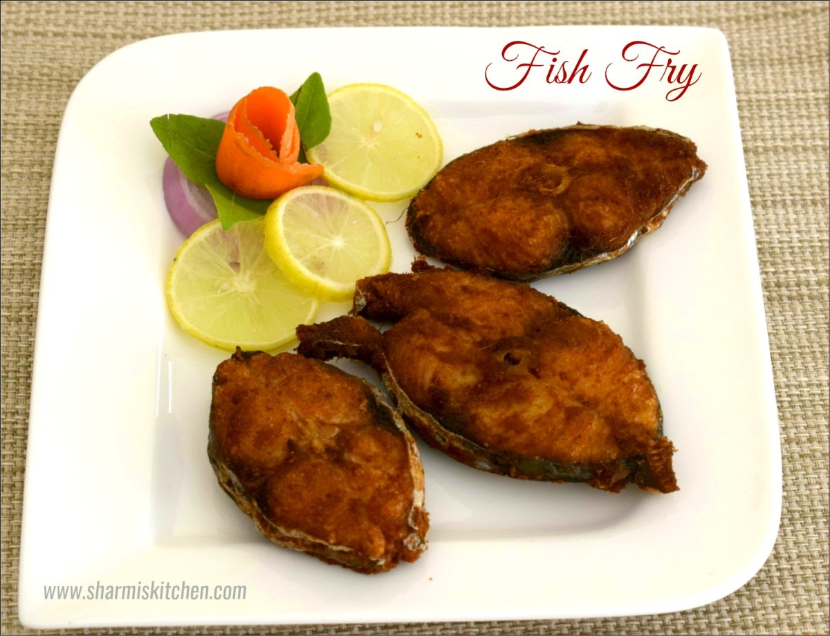 Fish Fry Recipe | Fried King Fish