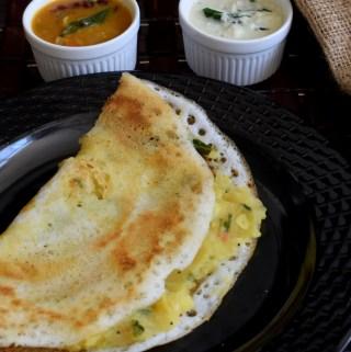 Masala Dosa Recipe | Restaurant Style Masala Dosa