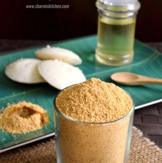Idli Milagai Podi Method 2 | Idli Podi (Chutney Powder)