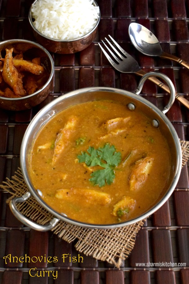 Anchovies Fish Curry