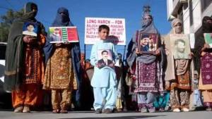 families of baloch disappeared persons
