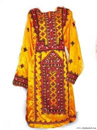 Traditional Baloch dress.