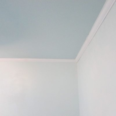 wall ceiling contrast