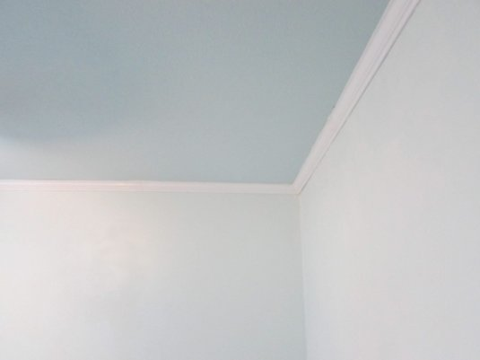 Remove Texture - wall ceiling contrast