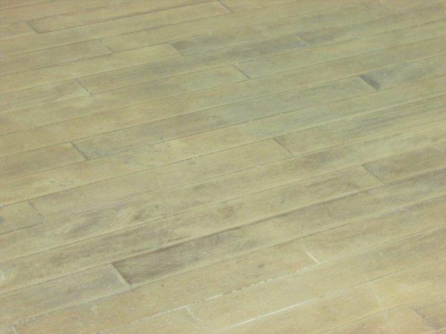 Refinish wood floors - sanded hardwood