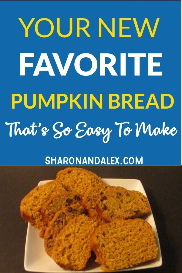 If you love pumpkin bread, then you need to try this recipe. It's so moist and deliciously full of the flavors of fall. #fall #fallrecipes #recipes #pumpkinrecipes #pumpkin
