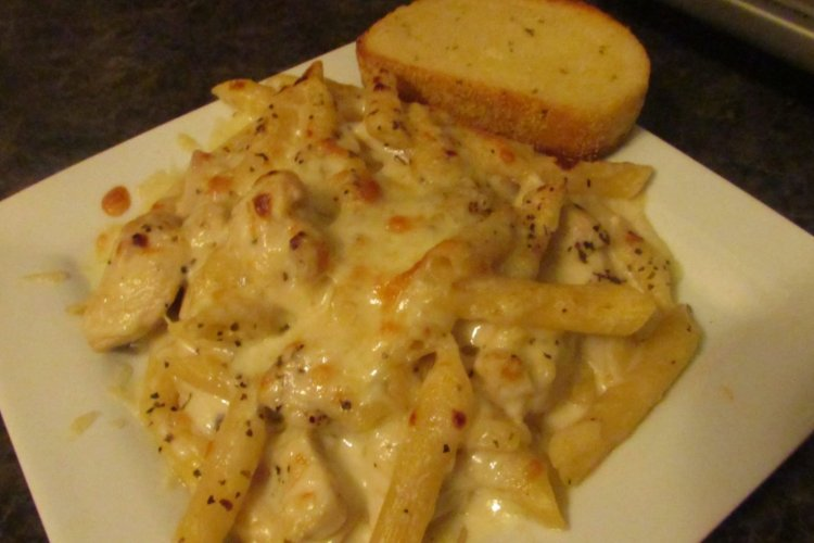 One-Dish Cheesy Chicken Penne Recipe