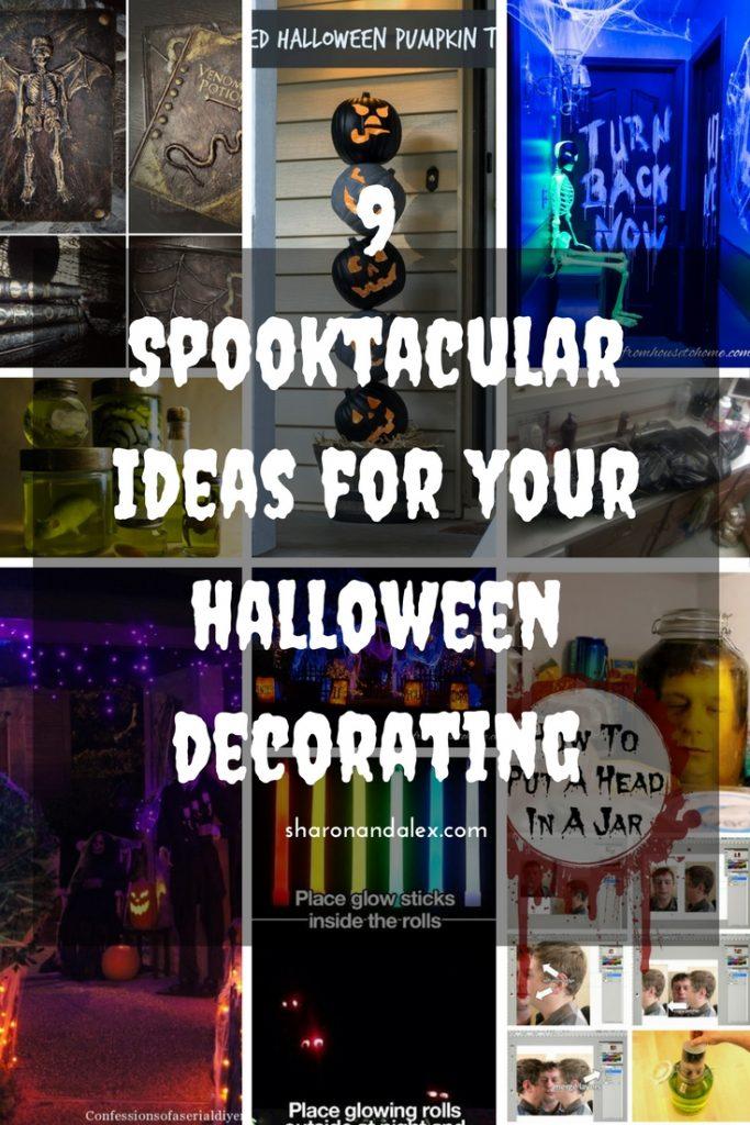 Halloween Decorating