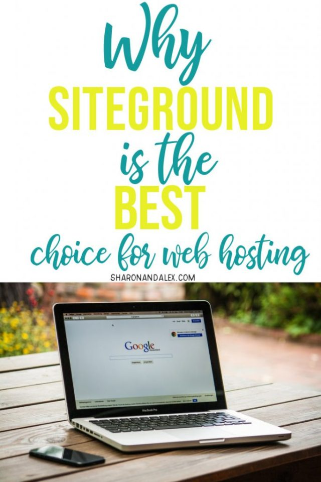 If you're thinking about starting a blog and aren't sure which web host to use, click to read why I think SiteGround is the absolute best choice for web hosting. #blogging #bloggingtips #webhosting #siteground