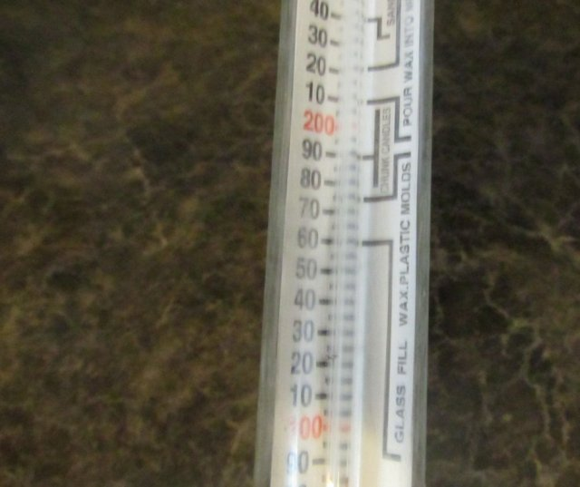 soy candle thermometer