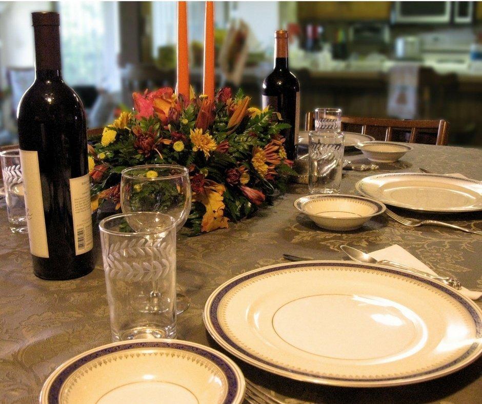 Last Minute Checklist Thanksgiving