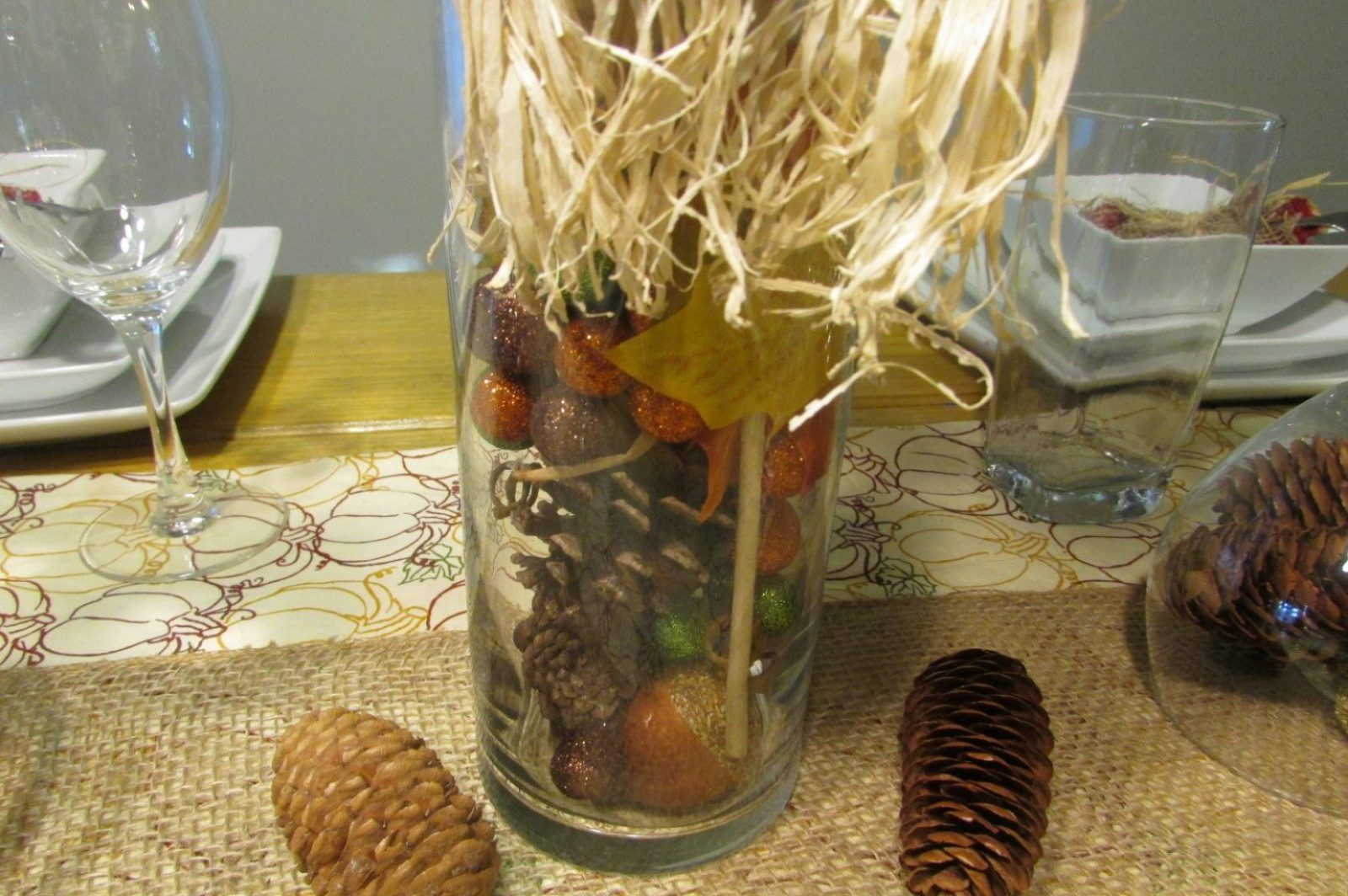 thanksgiving decorations filler