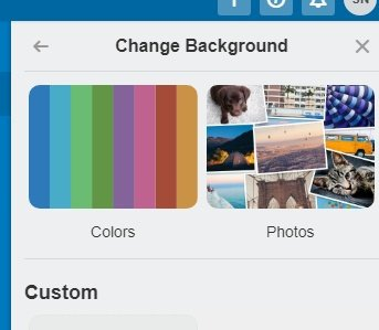 trello change background