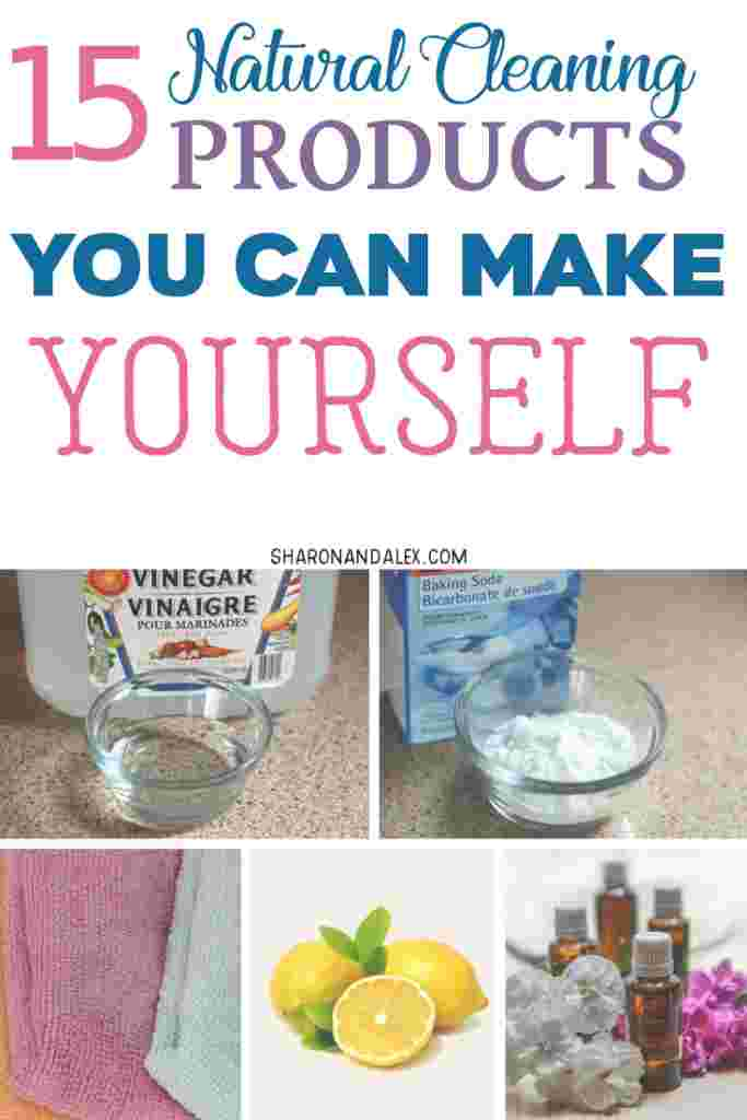 If you're wary of the harmful chemicals found in store-bought cleaning products, try making your own! Here are 15 all natural cleaning products you can make using common household ingredients you probably already have. #diycleaning #naturalcleaning #cleaning #cleaningtips #safecleaning