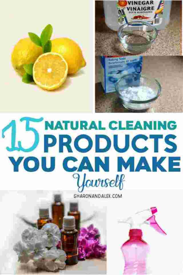 Commercial and store-bought cleaning products are full of harmful chemicals and additives. DIY your own all natural cleaning products using common household items like vinegar and lemons! #diycleaning #naturalcleaning #cleaning #cleaningtips #safecleaning