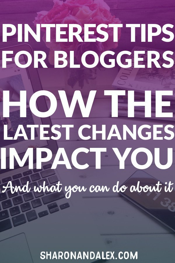 Ch-ch-ch-changes. We've all experienced the highs and lows of the recent Pinterest changes. Here's a rundown of what's changed with Pinterest recently. Learn how to work with the newest features to increase traffic and visibility! #pinteresttips #socialmediamarketing #pinterestmarketing #blogging #bloggingtips #bloggingresources