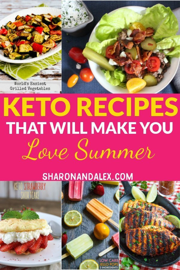 Summer shouldn't mean agonizing over carbs. These summer keto recipes are delicious and will make it easy for you to stick to the keto diet and enjoy your summer! #keto #ketorecipes #ketogenicdiet #summerketorecipes