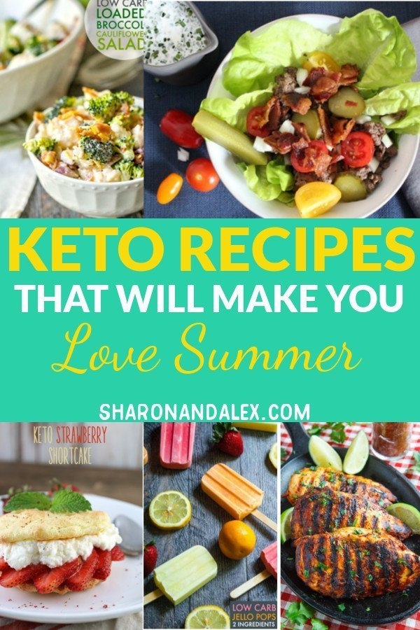 Here are some great summer keto recipes so you can enjoy summer and not worry about the guilt. #keto #ketorecipes #ketogenicdiet #summerketorecipes