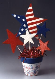 Patriotic Bouquet - Memorial Day Party