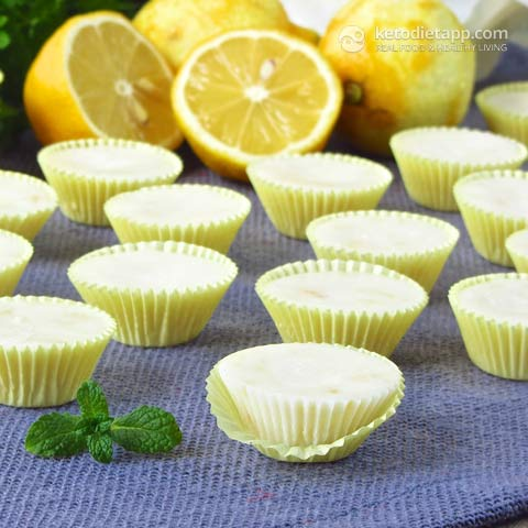 Keto Fat Bombs - Easy Lemon Fat Bombs