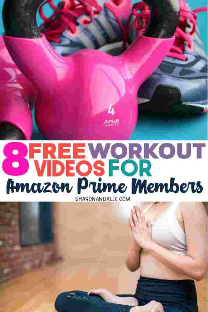 Are you looking for free workout videos that you can do at home? Check out these 8 awesome and FREE workout videos available on Amazon Prime Video #amazon #primevideo #workoutideas #freeworkouts #workoutvideos