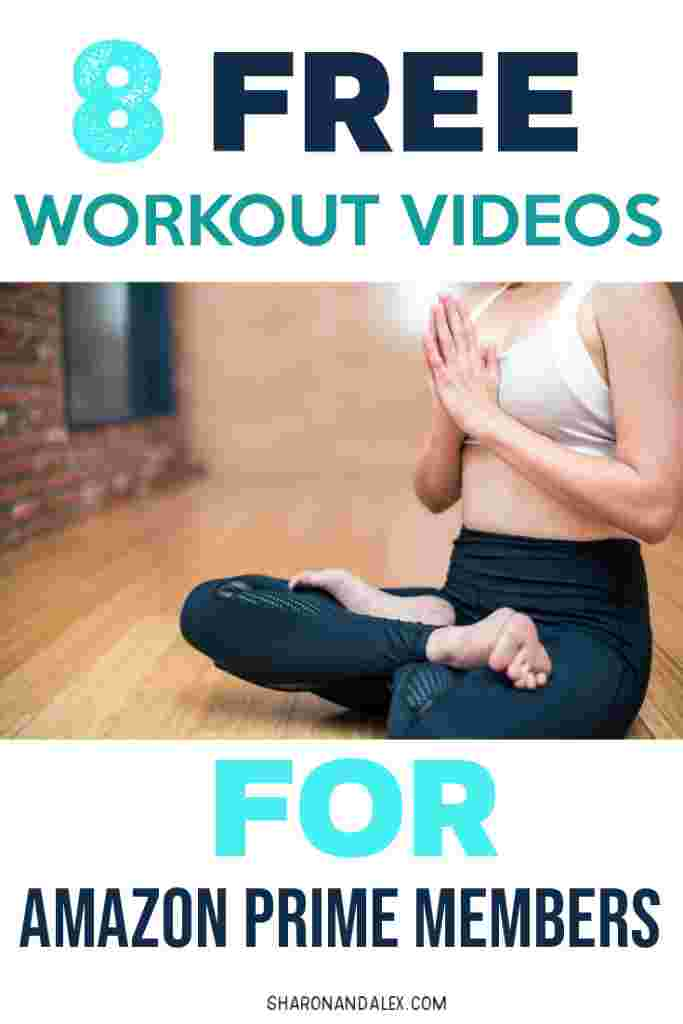 Did you know that Amazon Prime offers FREE workout videos? Here are 8 great and FREE workout videos you need to check out. #amazon #primevideo #workouts #workoutideas #freeworkouts