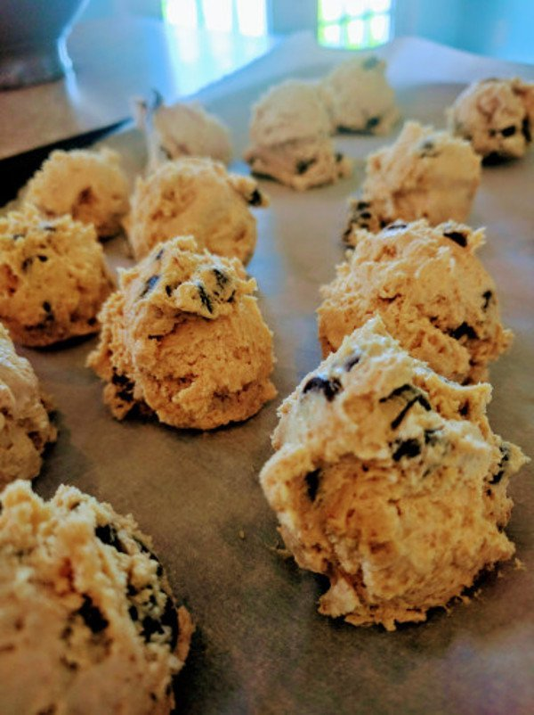 Keto Fat Bombs - Chocolate Chip Cookie Dough Fat Bombs