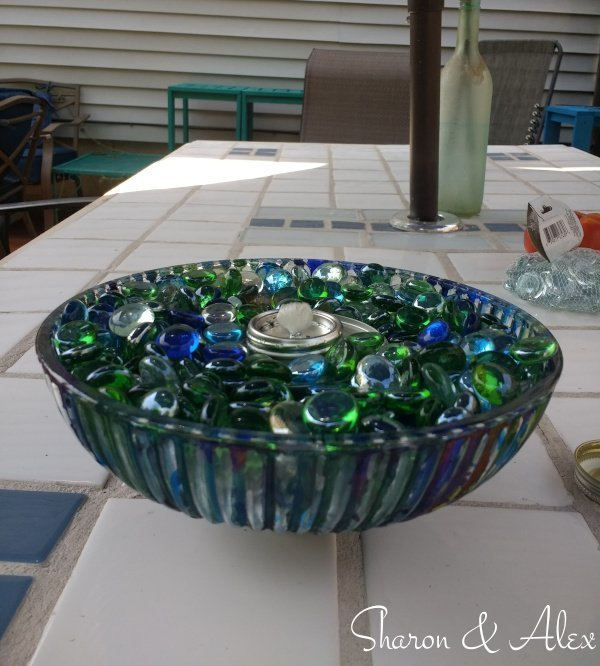 Boob Lights to Fire Bowl - Add Glass Gems to Bowl