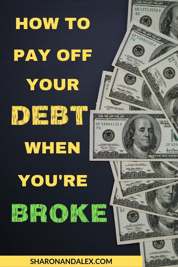 Get Out of Debt When You're Broke