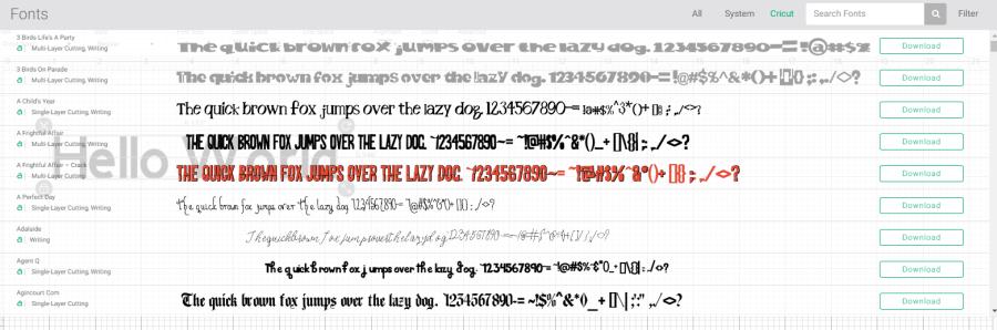 Design Space Fonts