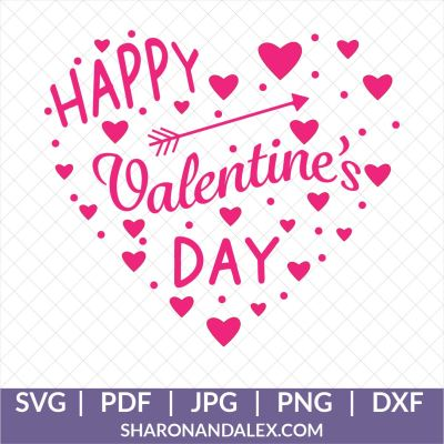 Valentine's Day Heart SVG