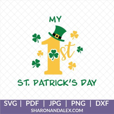 My First St Patrick's Day SVG
