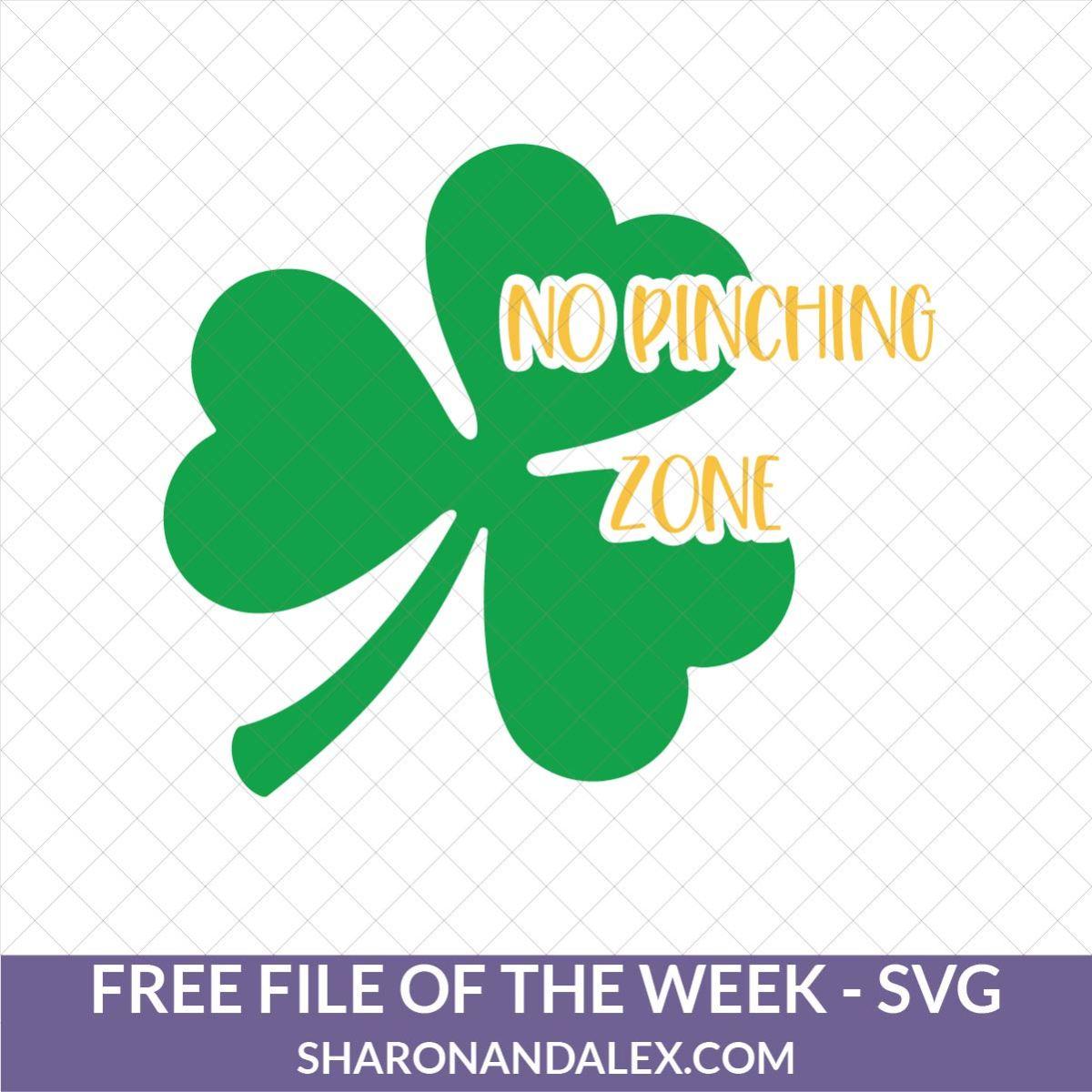 No Pinching Zone SVG File