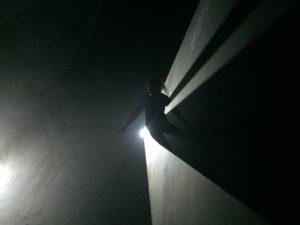 Light beam exhibition Lismore Castle Gallery