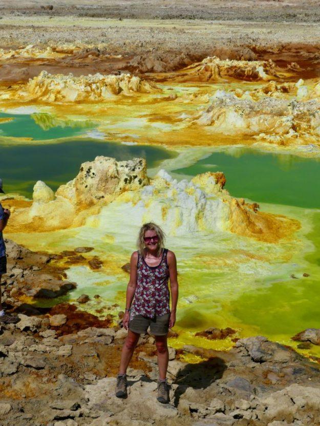 The alien landscape of Dallol in the Danakil Depression