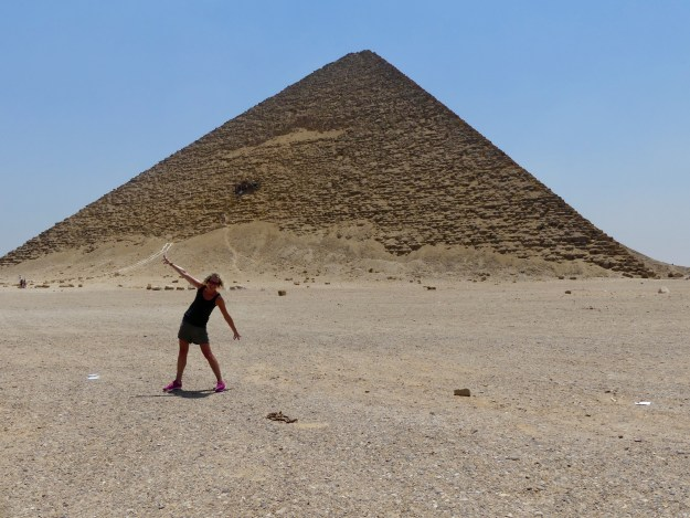 The Red Pyramid at Dashur