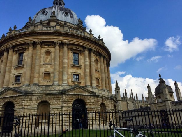 The iconic Radcliffe Camera building