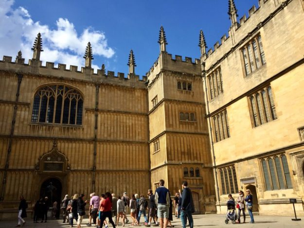 The Bodleian Library - this Oxford library is entitled to every book ever published in the UK!