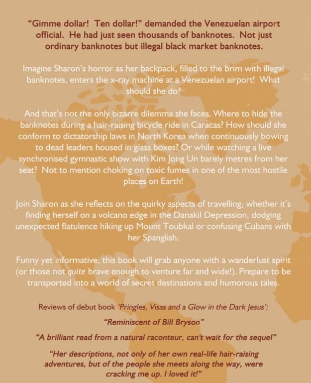 Secret Lands Petrol Clams and a Bagful of Bolivar Book Blurb