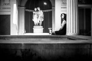 Berlin Sanssouci roman bath