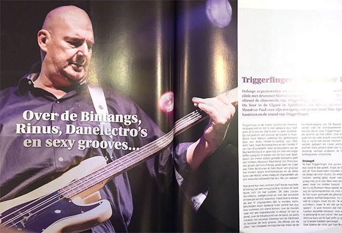 Interview Triggerfinger part 1
