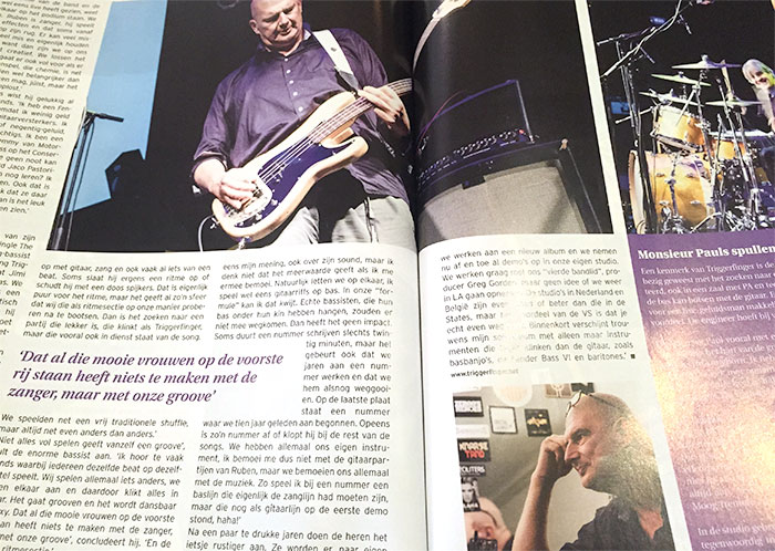 Interview Triggerfinger Part 2