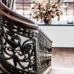 Bruges stairway at the hotel - de tuilerieen